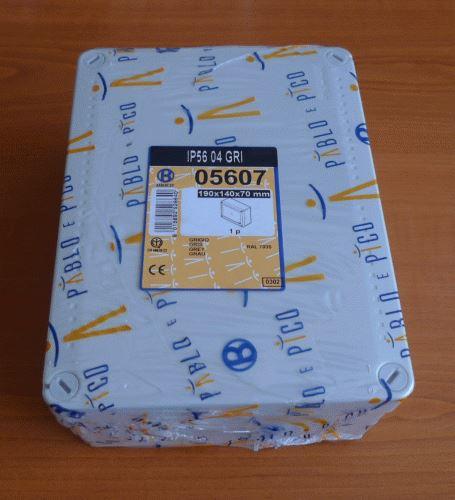 Rozvodná instalační skříň 19x14x7