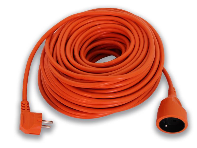 prodlužovací kabel 1 zásuvka 30m oranž. 3x1,5