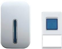 Solight bezdrátový zvonek, do zásuvky, 100m, bílý, 1L35