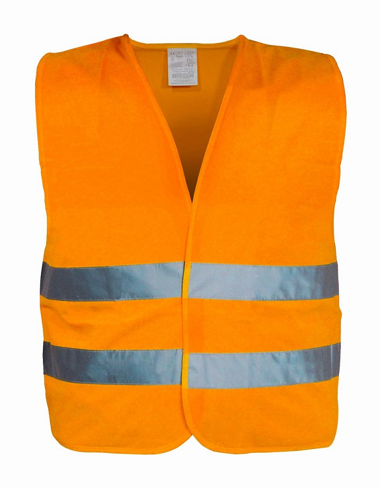 Vesta výstražná oranžová XXL EN 20471:2013