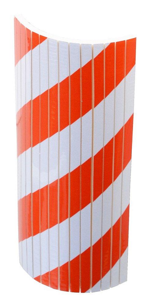 Reflexní pěnový nárazník 18x38x1cm kulatý