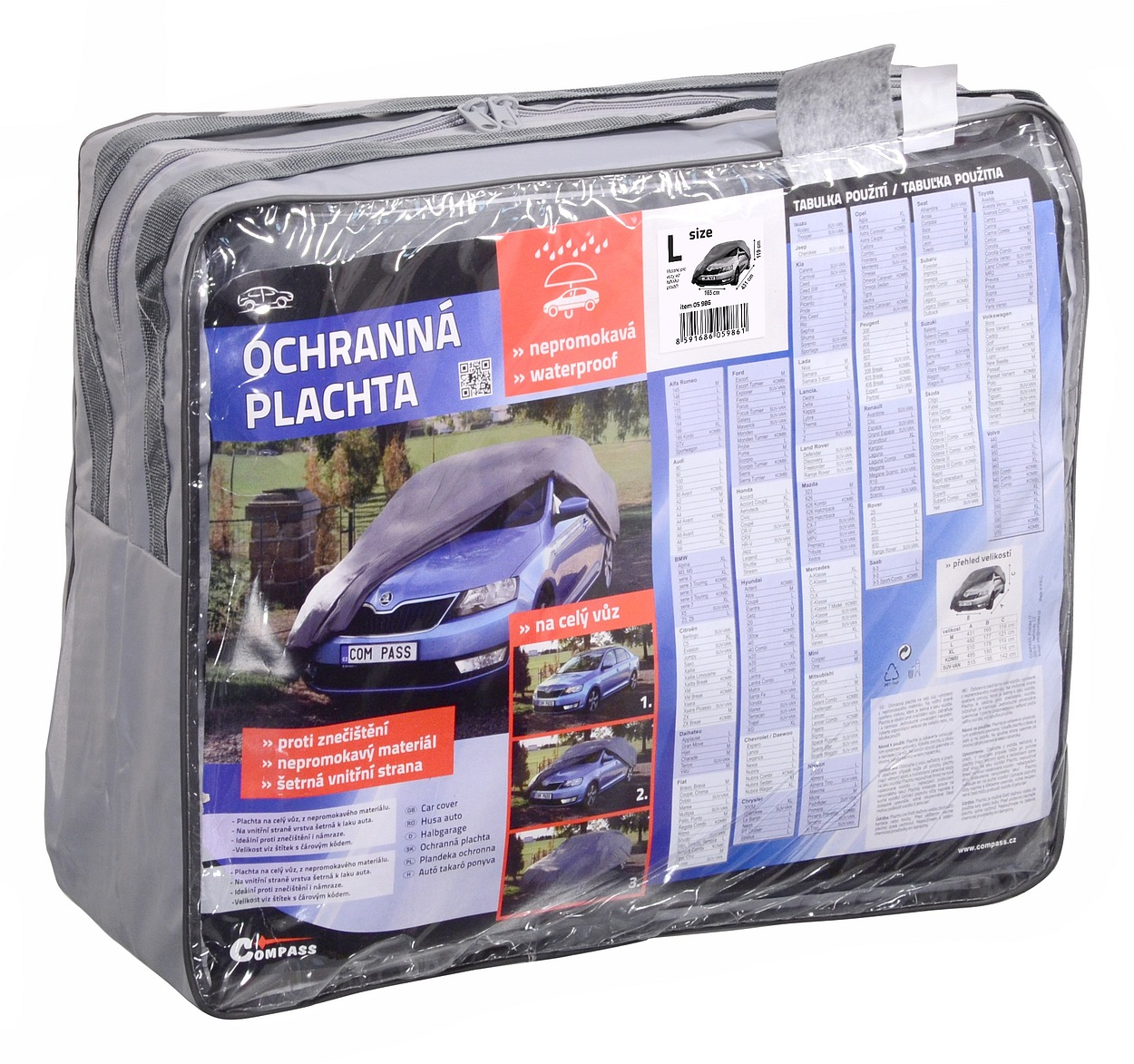 Ochranná plachta FULL L 482x177x121cm 100% WATERPROOF
