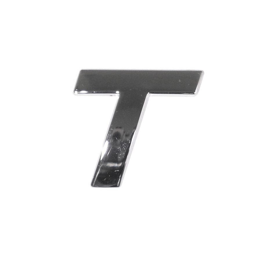 Znak T samolepící PLASTIC