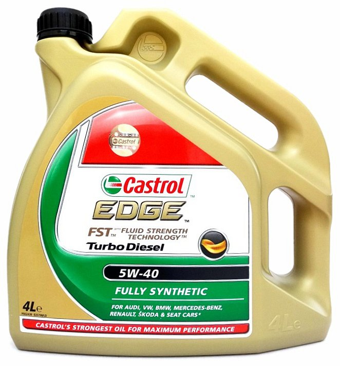 Olej motorový Castrol EDGE Turbo Diesel 5W-40 4L