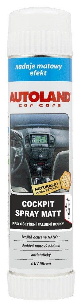 Cockpit spray MATT matný NANO+ 400ml