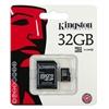 Kingston MicroSDHC 32GB Class10 + adapter