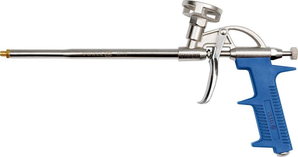 Pistole na montážní pěnu kov