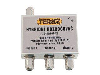 Anténní rozbočovač TEROZ T 104 X