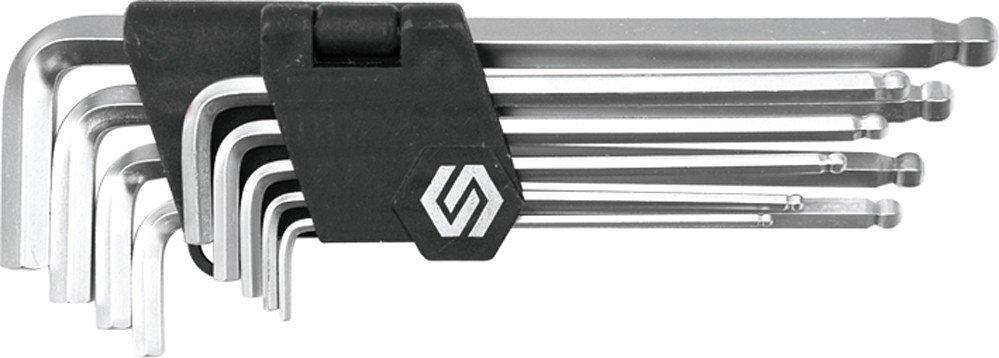 Sada klíčů imbus 9 ks s kuličkou