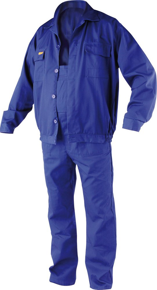 Pracovní oděv, kalhoty s laclem, blůza ERBO vel. XL