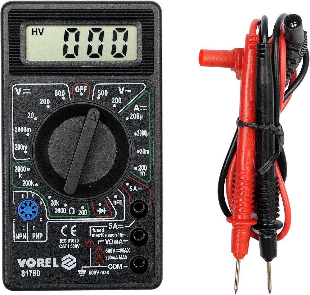 Vorel TO-81780 Multimetr digitální