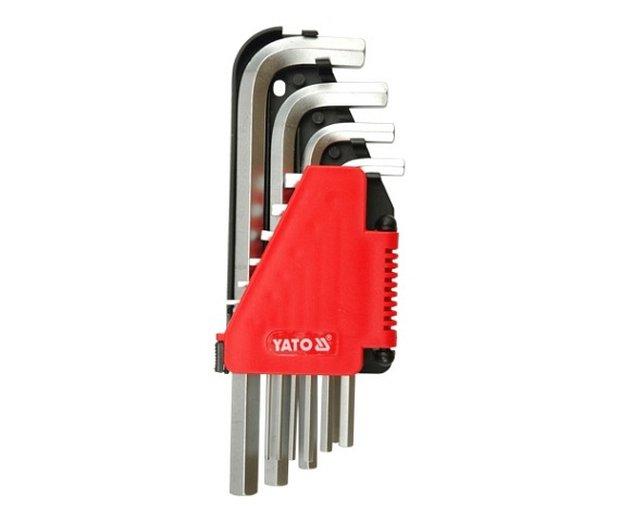 Sada klíčů imbus 10 ks delší