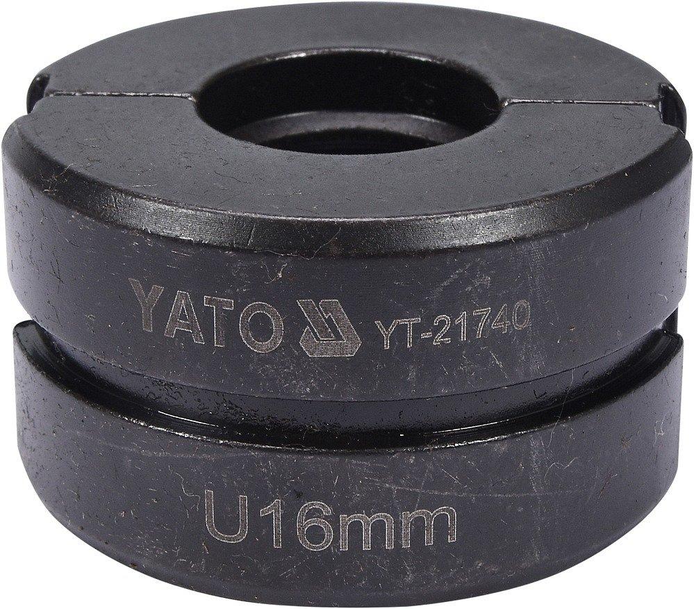 Náhradní čelisti k lisovacím kleštím YT-21735 typ U 16mm
