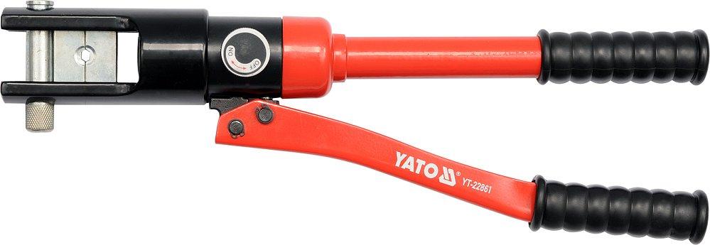 Kleště lisovací na koncovky kabelů Al 16-185mm2, Cu 16-240mm2, 470mm