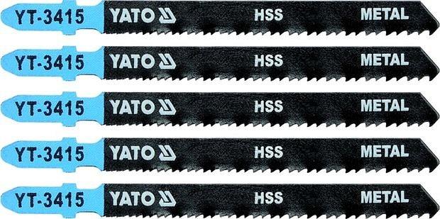 List pilový do přímočaré pily 100 mm na kov TPI24-10 5 ks