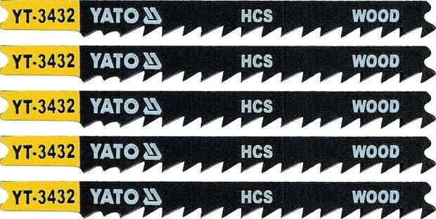 List pilový do přímočaré pily 91,5 mm na dřevo TPI6 5 ks