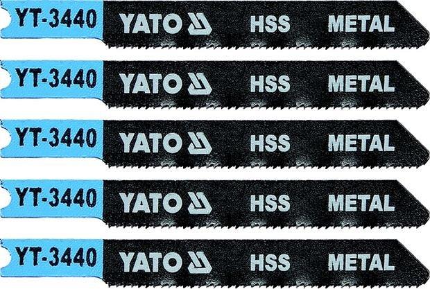 List pilový do přímočaré pily 70 mm na kov TPI21 5 ks