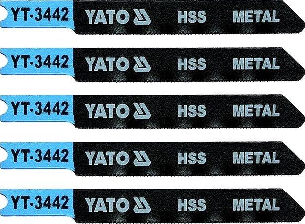 List pilový do přímočaré pily 70 mm na kov TPI36 5 ks