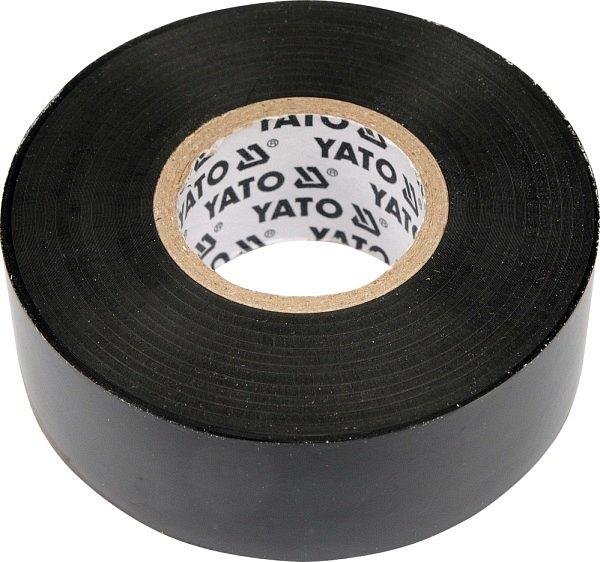 Páska izolační 12 x 0,13 mm x 10 m černá YATO YT-8152