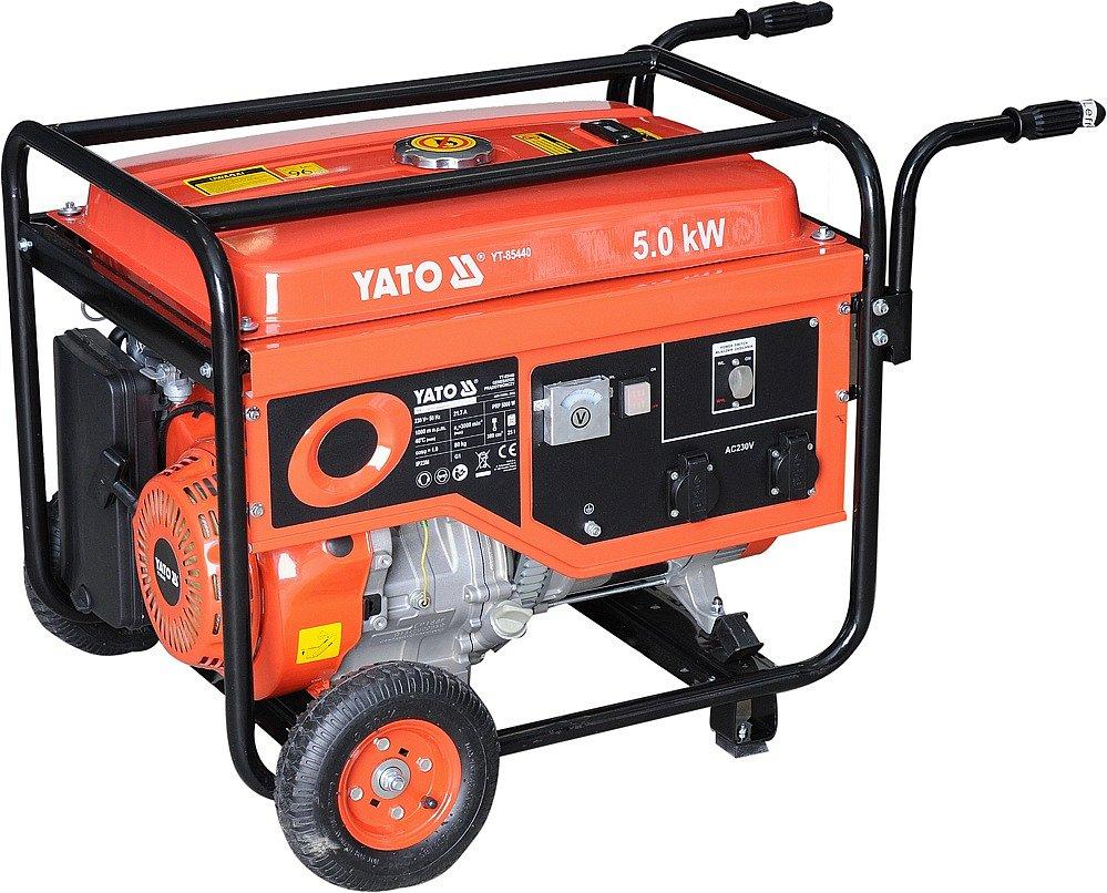 Elektrocentrála - benzínový generátor 5,0kW