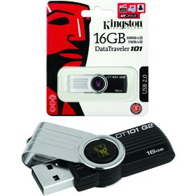 Kingston Flash USB DataTraveler 101 16GB