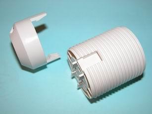 Objímka E27 plast vnější závit