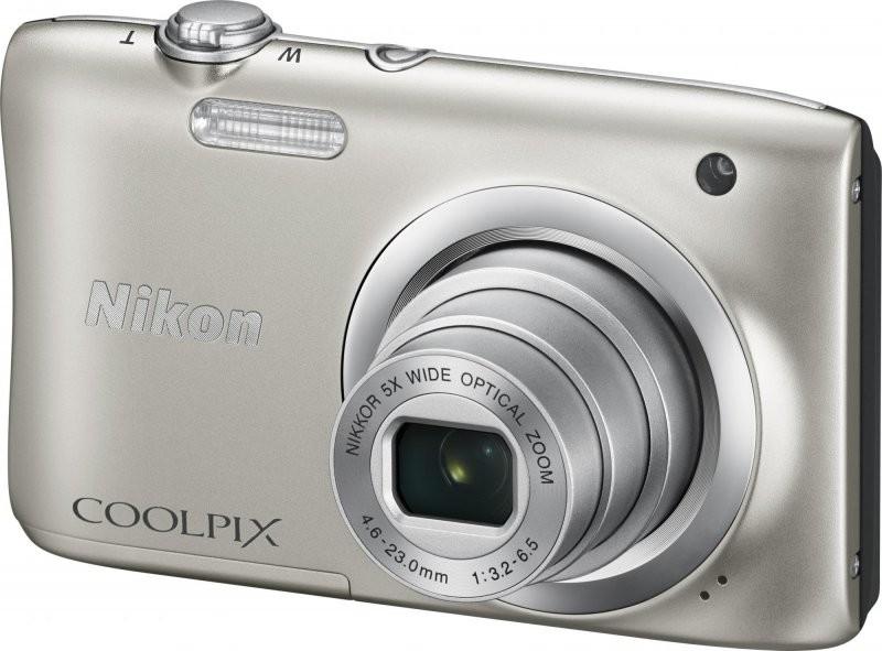 Nikon Coolpix A100, silver