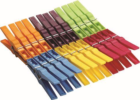 Kolíčky na prádlo 24 ks / 80 mm plast Extra