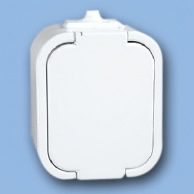 Instalační zásuvka GNT-16 IP44 bílá