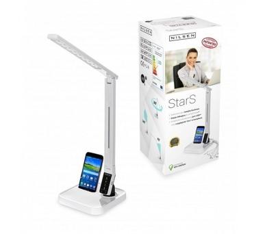 NILSEN LED stolní lampa STARS dotyková, stmívatelná, 11W, volba teploty světla, bílá CS003 + ZDARMA LED žárovka 10W v ceně 89 Kč