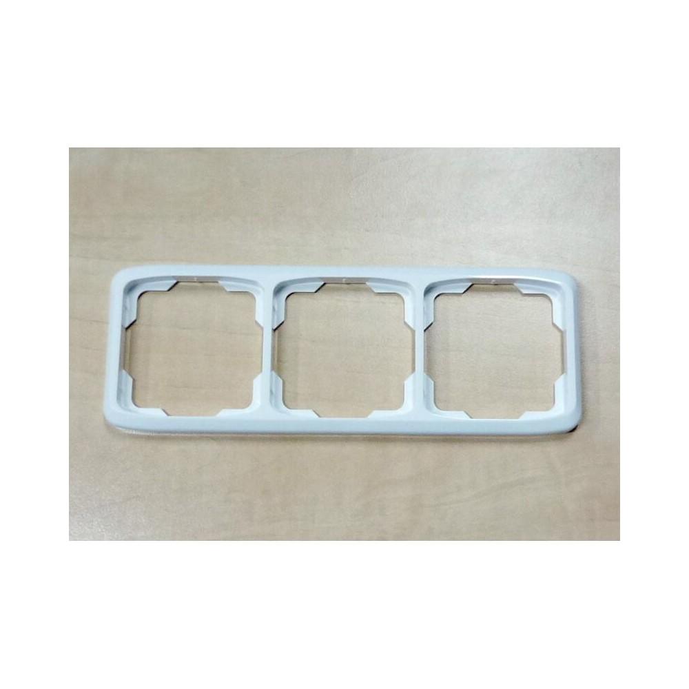 Trojnásobný rámeček TANGO bílá