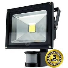 Solight LED venkovní reflektor, 30W, 2400lm, AC 230V, černá, čidlo