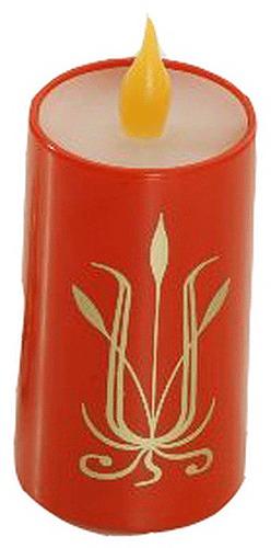 Svíčka dekor smuteční/vánoční DAYMOON 90510H