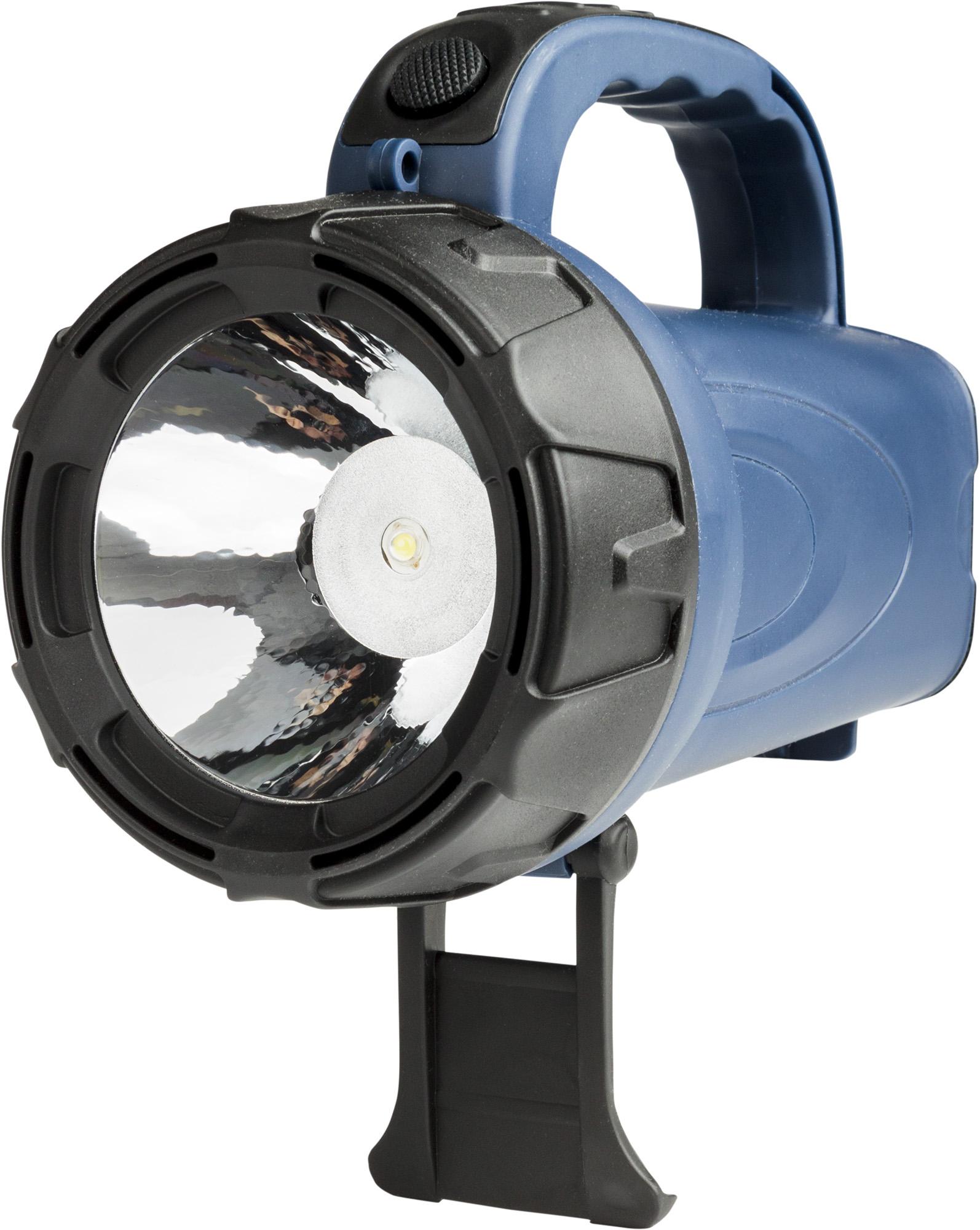 Nabíjecí svítilna SO. WN16, 1x3W LED, černomodrá