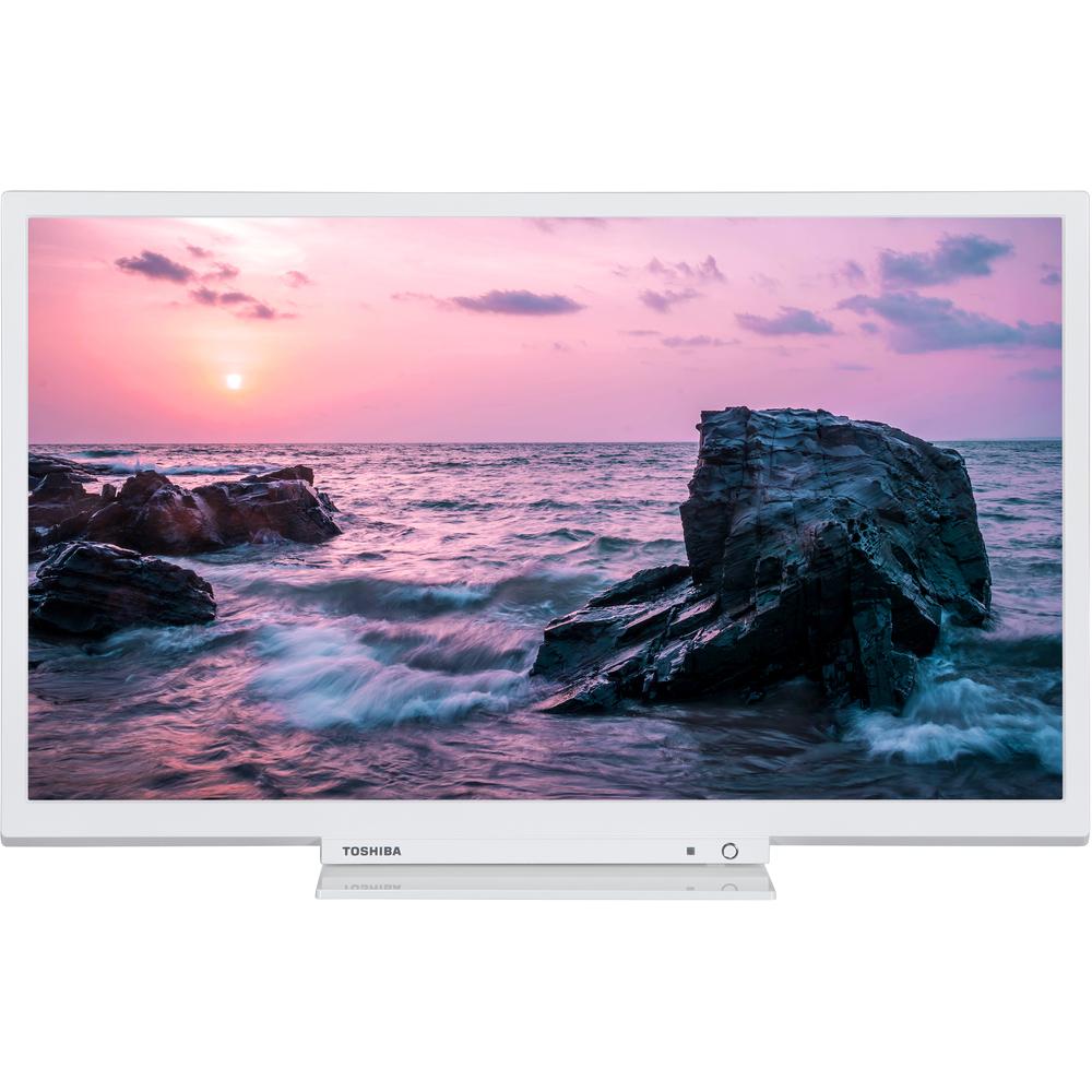 TOSHIBA 24W1764DG HD TV T2/C/S2 WHITE