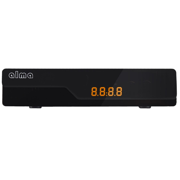 ALMA 2780 černý DVB-T2 HD přijímač s displejem