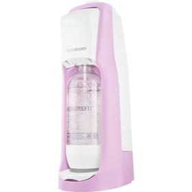 SodaStream JET PASTEL ROSE + ZDARMA sirup Jahoda 500 ml