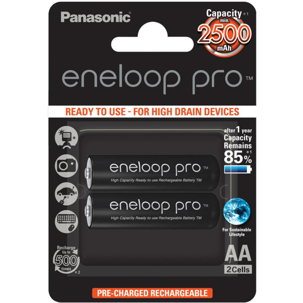 HR6 AA 3HCDE/2BE ENELOOP PRO PANASONIC