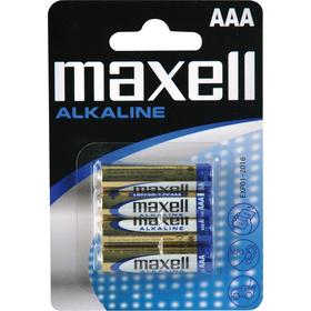 LR03 4BP AAA Alk MAXELL