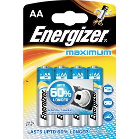 LR6 4BP AA Maximum Alk ENERGIZER