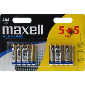 LR03 10BP AAA Alk MAXELL
