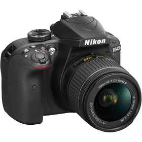 D3400+AF-P 18-55 non VR BLACK NIKON
