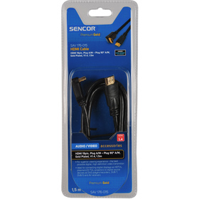 SAV 176-015 HDMI A-A 90st.V1.4 PG SENCOR