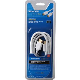 SAV 167-015W HDMI M-M 1,5M 1.4 PG SENCOR