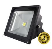 LED reflektor Solight venkovní, 30W, 2100lm, AC 230V, černá WM-30W-E