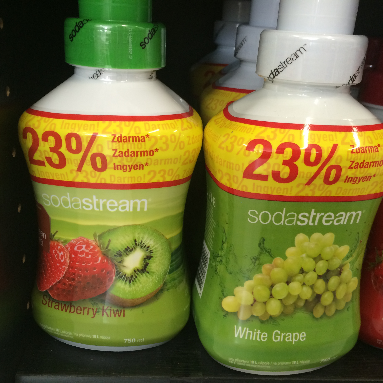 Sodastream Sirup Green IceTea Kiwi/Jah. 750ml