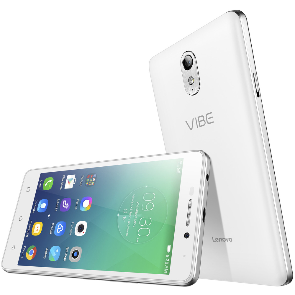 Lenovo Vibe P1m Single SIM bílý