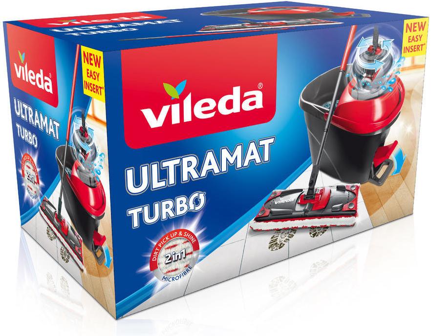 VILEDA Easy Wring UltraMat TURBO mop set 158632