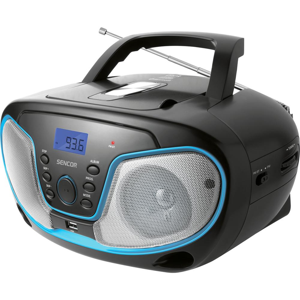 SENCOR SPT 3310 rádio s CD/MP3/USB/BT