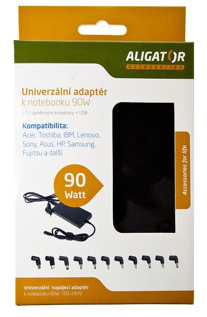 univerzální síťový adaptér k notebooku 90W